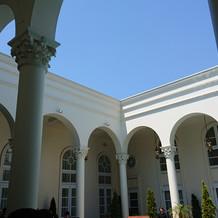ビクトリアハウスの中庭