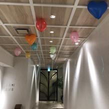 廊下には十分なスペースがあり 満足です