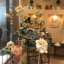 装花コーナー