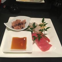 5品目 お寿司 ネタがおっきい