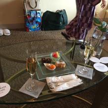 シャンパンブランチもリッチな雰囲気でした
