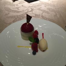 14000円のコースのデザート。