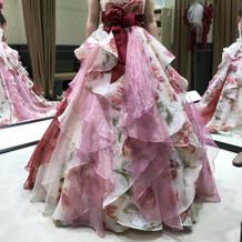 このドレス良かった