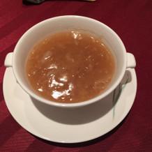 フカヒレのスープ