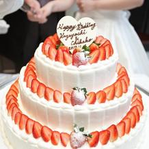 とても美味しいケーキで嬉しかったです。