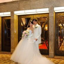 幸せな、温かい結婚式でした。