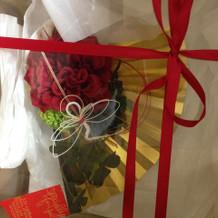 和服用のブーケ造花