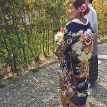 背面の刺繍も非常に豪華