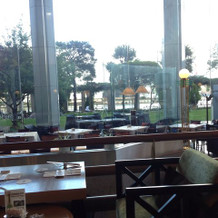 二次会可能なホテルのカフェ