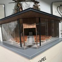 チャペル模型