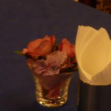 フェア時のお花