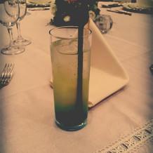 食前に出た、ノンアルコールカクテルです!