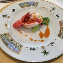 オマール海老の料理