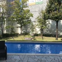 プールが素敵!