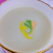 ホワイトアスパラとポテトのスープ