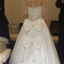 このドレスも素敵でした