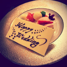 ミルフィーユのケーキ