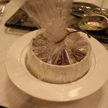 コンソメスープ ポルチーニ茸の香り