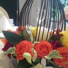 お花のアレンジも良かった