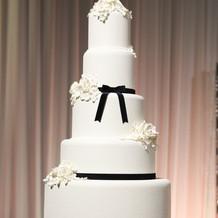イミテーションのケーキ。節約でき豪華