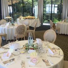 レストランでの結婚式