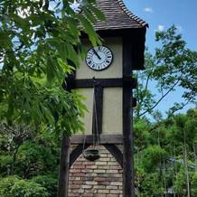 ノベルヴィラガーデンの時計台