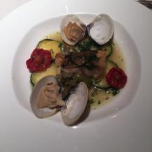 シェフおすすめ四季の魚料理
