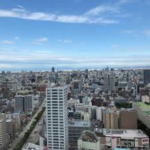 28階クリスタルルームからの眺望