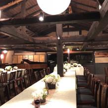 2階の披露宴会場