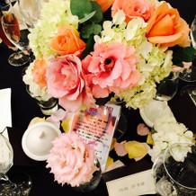 テーブル生花