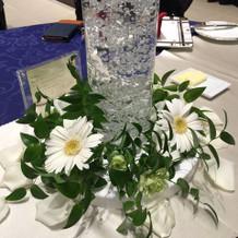 ルミエールと最低で作ってもらった花です