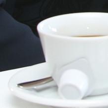 食後には、コーヒーor紅茶を選べます。