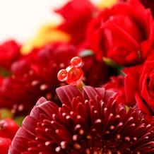 装花の隠れミッキー