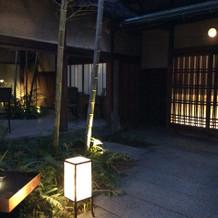 夜間の景観
