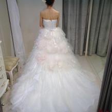 試着したドレス⑤