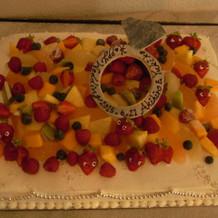 本番:要望通り 美味しい ケーキ!!