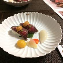 ローストビーフ寿司
