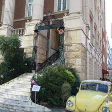 式場の外階段