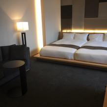 宿泊をされる方用のお部屋です。