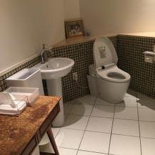 トイレは広いです。
