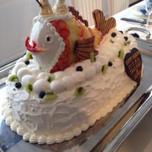 立体ウエディングケーキ