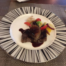 温野菜も美味しくフォアグラも濃厚でした。