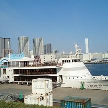 この船に乗りながらパーティーもできます