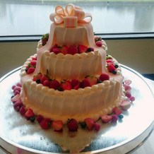 イメージ通りのケーキ