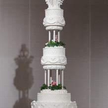 イミテーションケーキはプラン内。