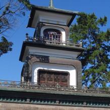 神社入口の門