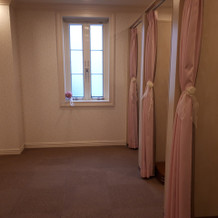 女性用更衣室。広くて良いです