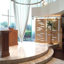 チャペル①祭壇