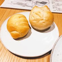 パンがふわふわで美味しい