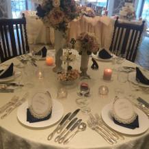 披露宴テーブルセット